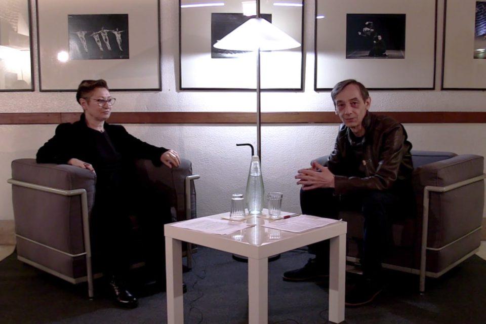 Jorge Rodrigues conversa com Olga Roriz