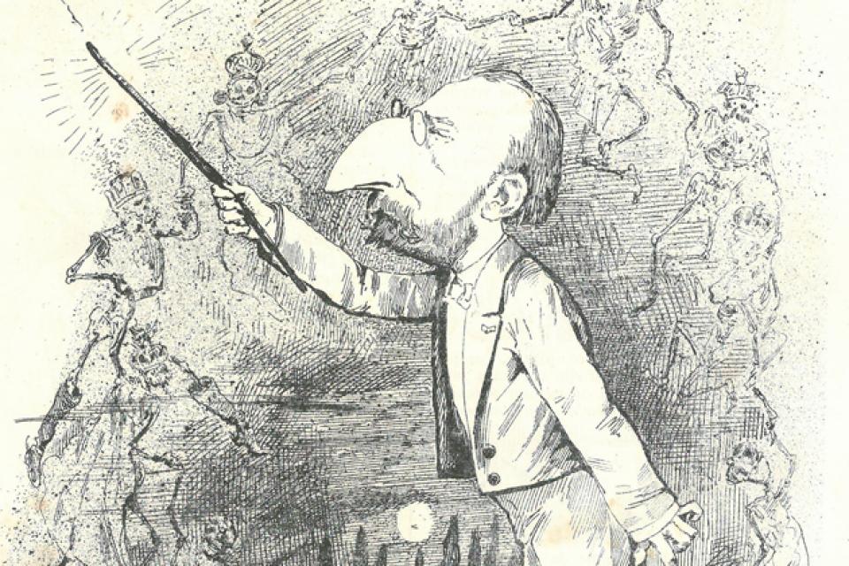 Bordalo Pinheiro e Saint Saens